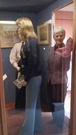 Spot the mannequin